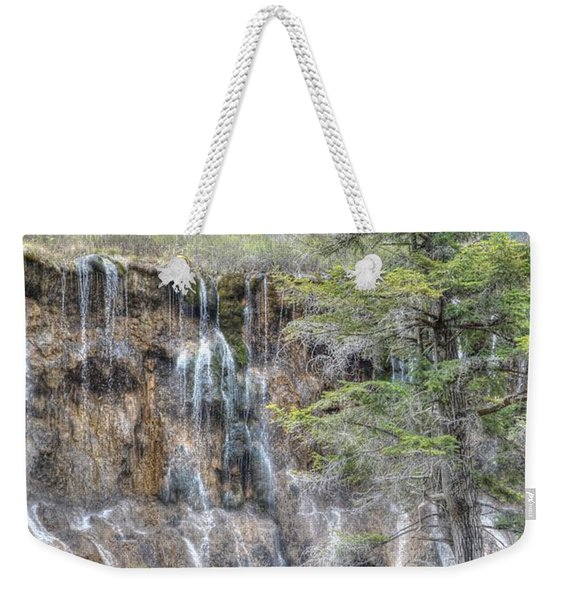 World Of Waterfalls China Weekender Tote Bag