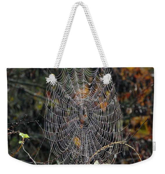 World Of Webs Weekender Tote Bag