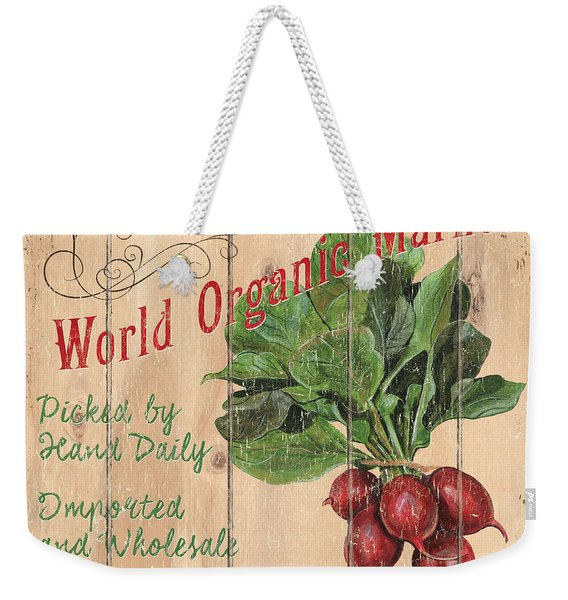 World Organic Market Weekender Tote Bag