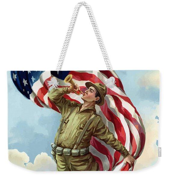 World War One Soldier Weekender Tote Bag