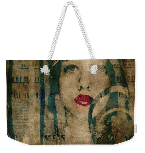 World Without Love  Weekender Tote Bag