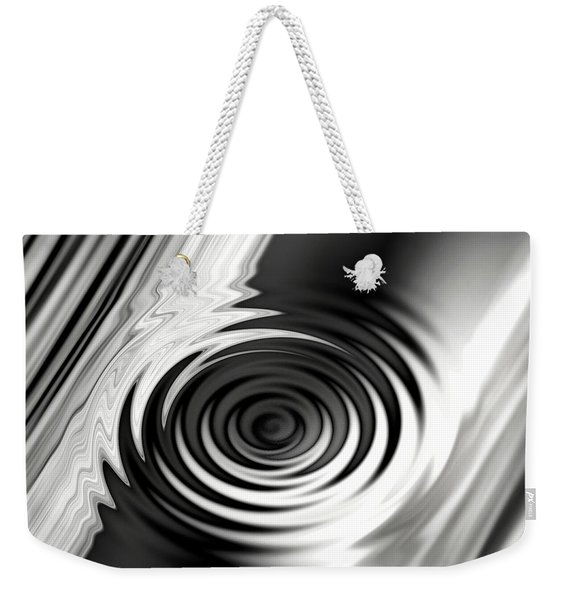 Wormhold Abstract Weekender Tote Bag