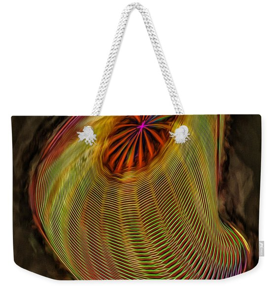 Wormhole In Space Weekender Tote Bag