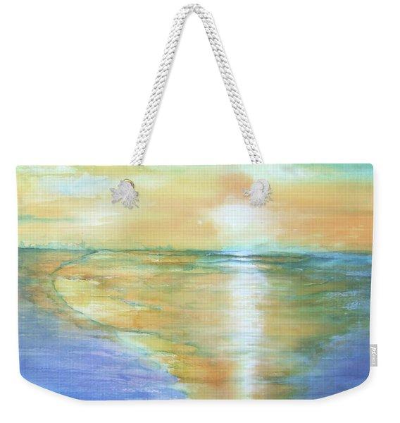 Wow Sunset Weekender Tote Bag