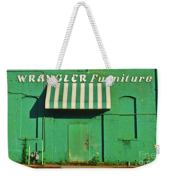Wrangler Furniture Weekender Tote Bag