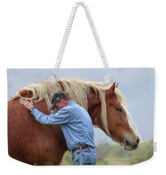 Wrangler Jeans And Belgian Horse Weekender Tote Bag