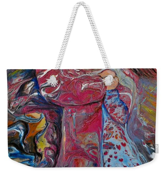 Wrapped In Your Love Weekender Tote Bag
