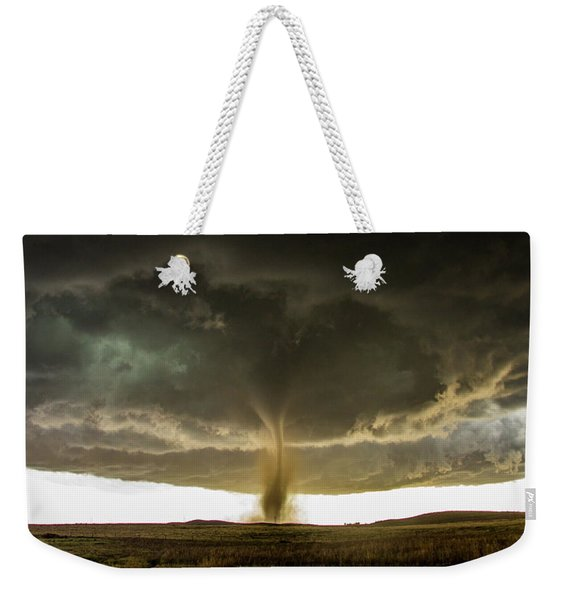 Weekender Tote Bag featuring the photograph Wray Colorado Tornado 060 by NebraskaSC