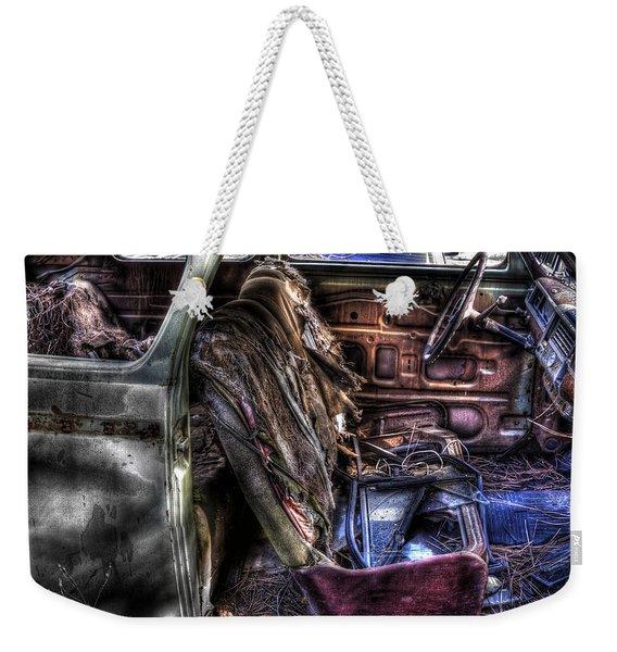 Wrecking Yard Study 1 Weekender Tote Bag