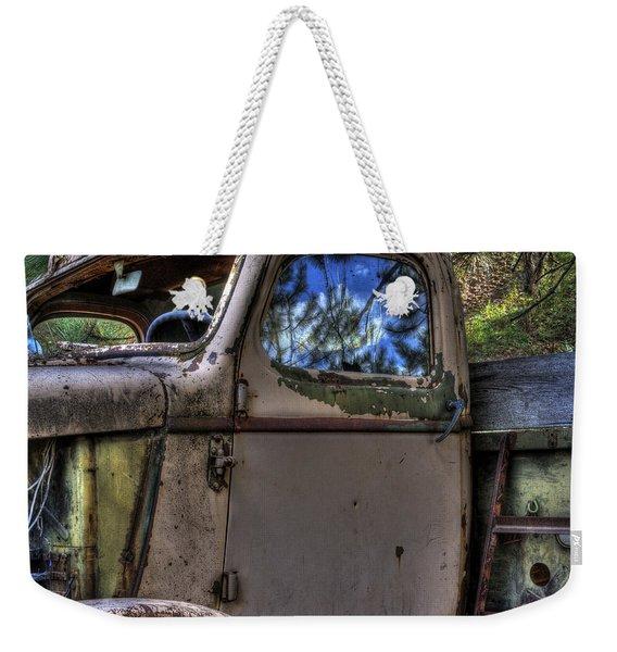 Wrecking Yard Study 4 Weekender Tote Bag