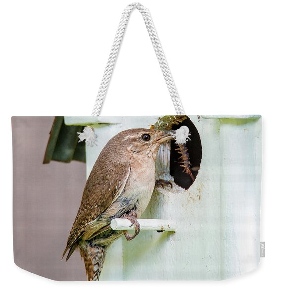 Wren Bringing Home The Bacon Weekender Tote Bag