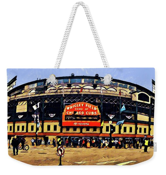 Wrigley Field Weekender Tote Bag
