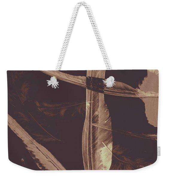 Writers Guild Abstract Weekender Tote Bag