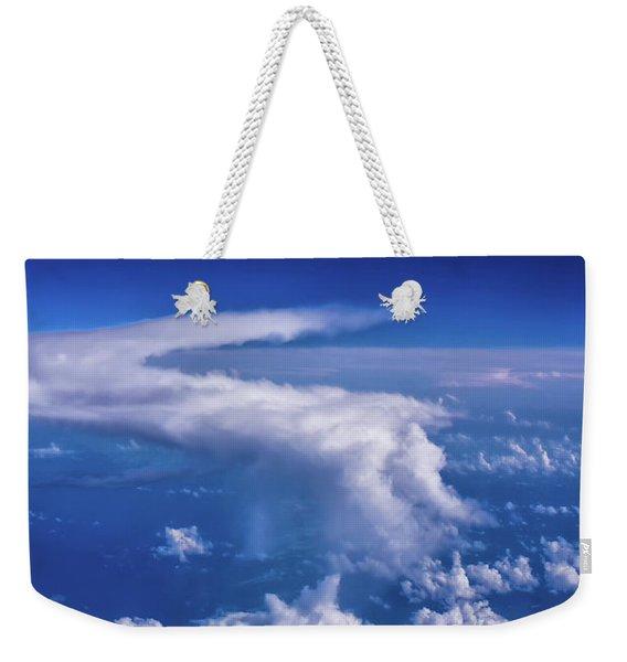Writing In The Sky Weekender Tote Bag