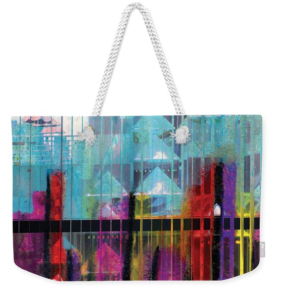 Wrought With Color Weekender Tote Bag