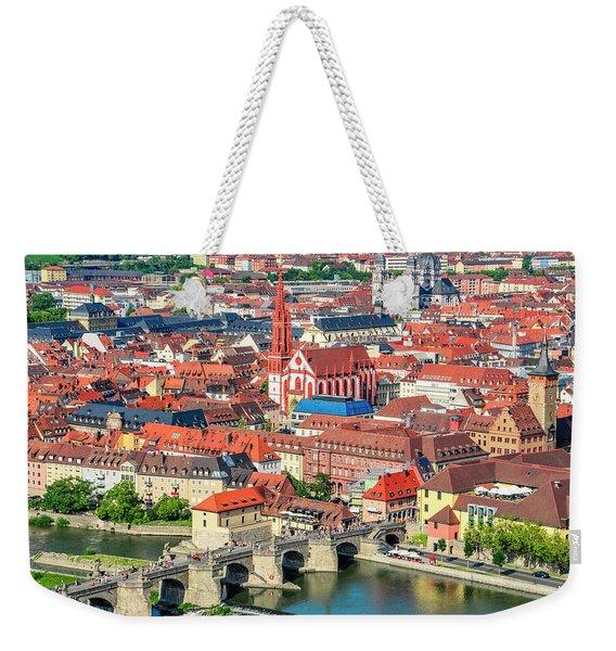 Wurzburg  Germany Weekender Tote Bag