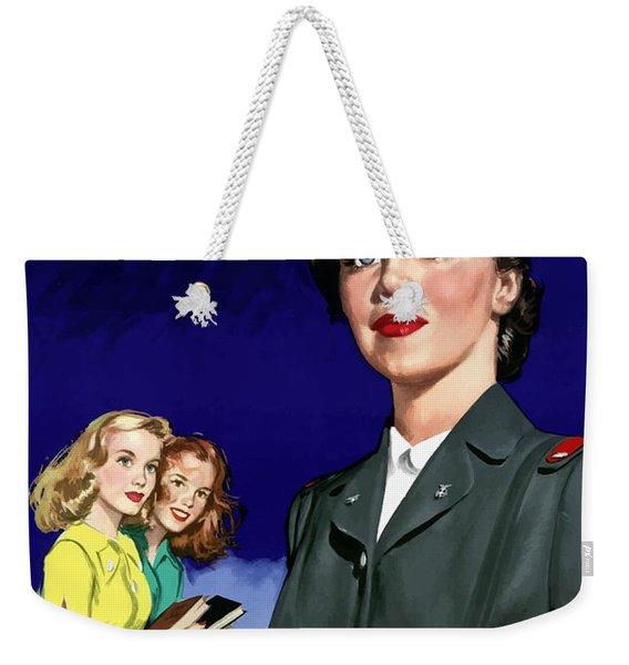 Ww2 Us Cadet Nurse Corps Weekender Tote Bag