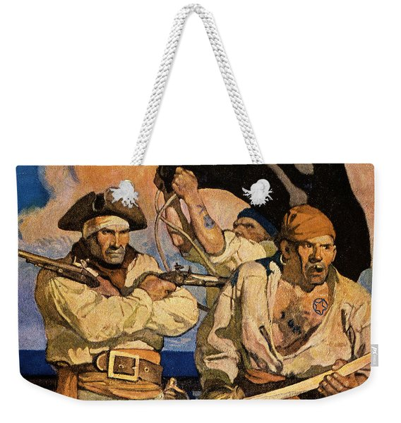Wyeth: Treasure Island Weekender Tote Bag