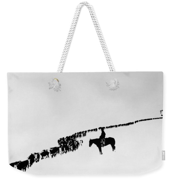 Wyoming: Cattle, C1920 Weekender Tote Bag