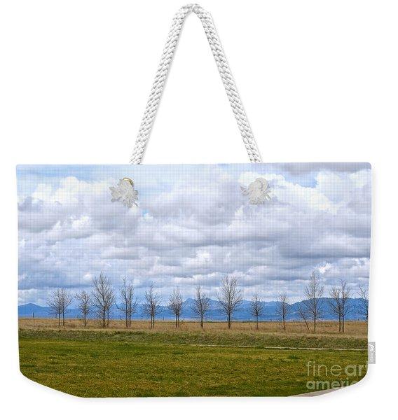 Wyoming-dwyer Junction Weekender Tote Bag