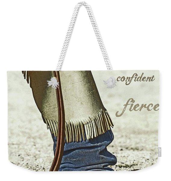 Wyoming Fierce Weekender Tote Bag