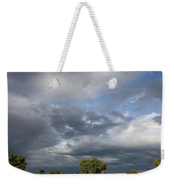 Wyoming Sky Weekender Tote Bag