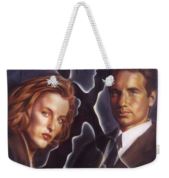 X-files Weekender Tote Bag