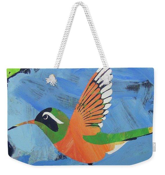Xantus Hummingbird Weekender Tote Bag