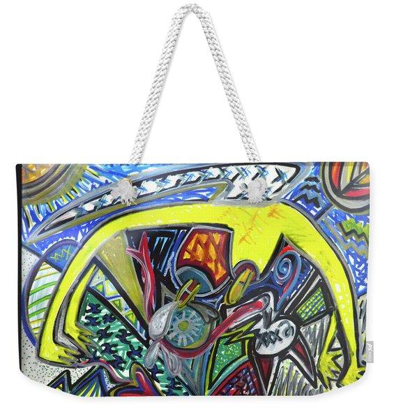 Xxxkull Patterns II Weekender Tote Bag