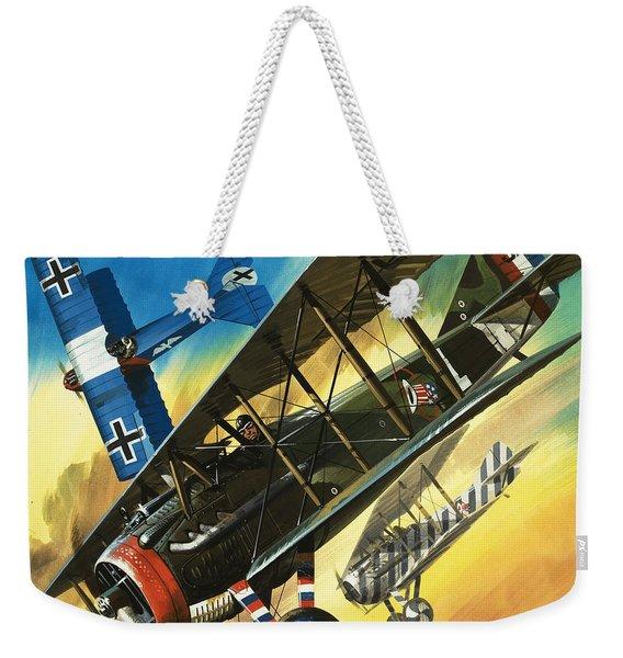 Yankee Super Ace Edward Rickenbacker Weekender Tote Bag