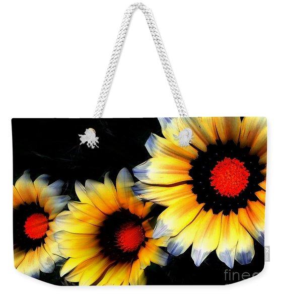 Yard Flowers Weekender Tote Bag