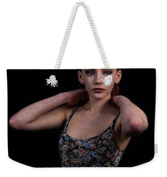 Yasmin Arms Raised Weekender Tote Bag