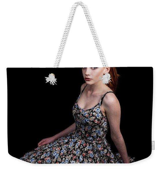 Yasmin Skirt Left Weekender Tote Bag