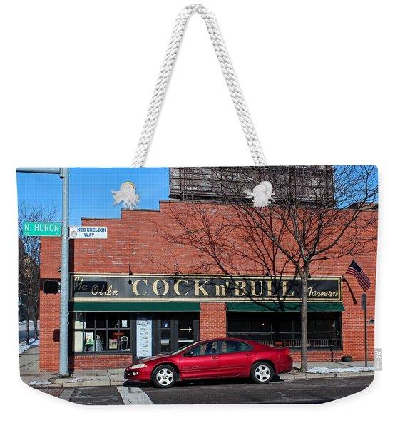 Ye Olde Cock N Bull Weekender Tote Bag