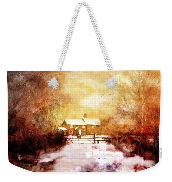 Ye Olde Inn Weekender Tote Bag