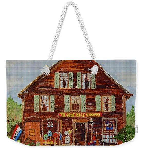Ye Olde Sale Shoppe Weekender Tote Bag