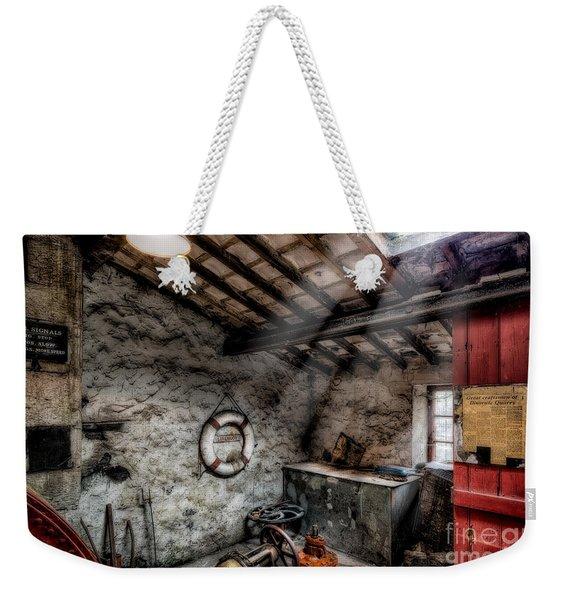 Ye Olde Workshop Weekender Tote Bag