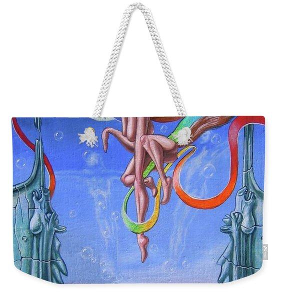 Year Of Rainbow Filly Weekender Tote Bag