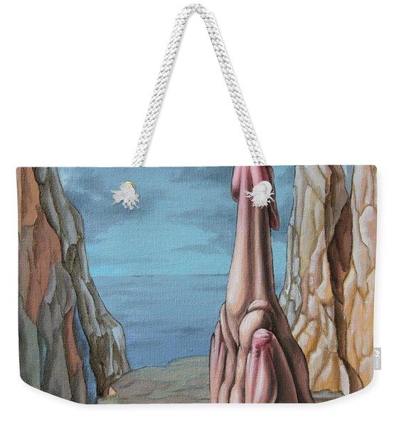 Yearning Weekender Tote Bag