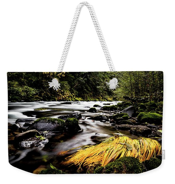 Yello Grass Weekender Tote Bag