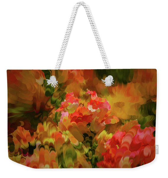 Yellow And Orange #h6 Weekender Tote Bag