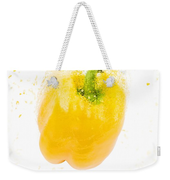 Yellow Bell Pepper  Weekender Tote Bag
