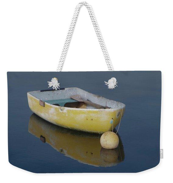 Yellow Rowboat Weekender Tote Bag