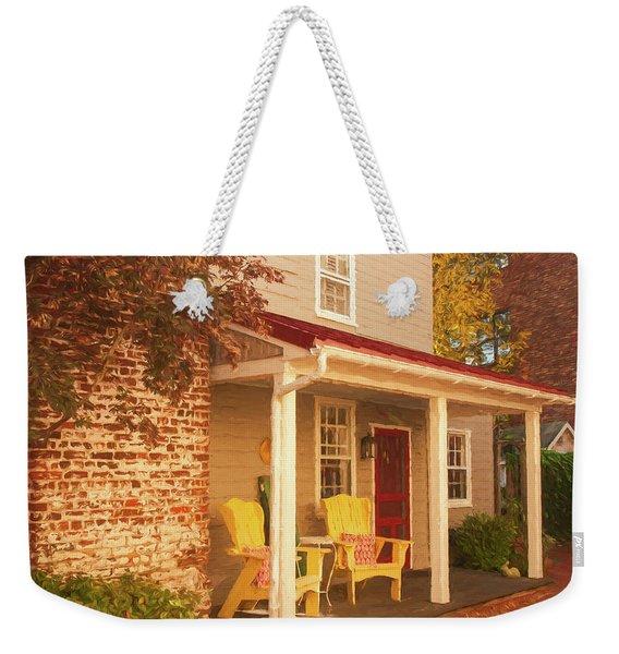 Yellow Chairs Weekender Tote Bag