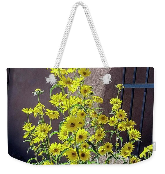 Yellow Composites At Ghost Ranch  Weekender Tote Bag