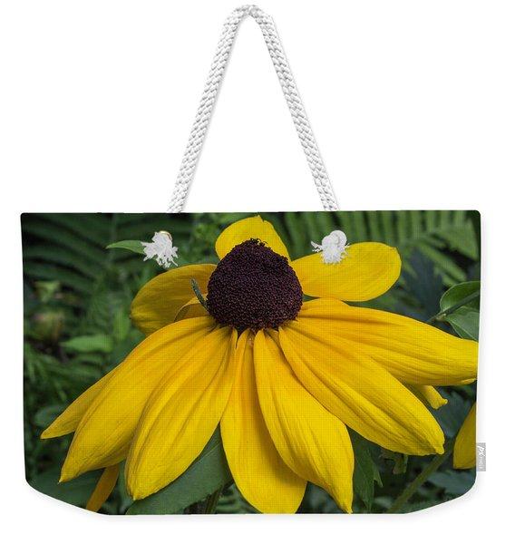 Yellow Coneflower Weekender Tote Bag