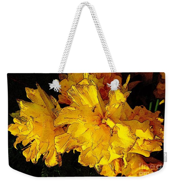 Yellow Daffodils 4 Weekender Tote Bag
