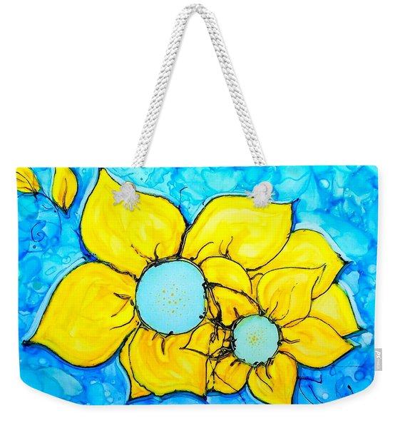 Yellow Flowers   Weekender Tote Bag