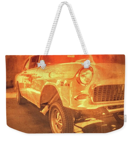 Yellow Gasser Weekender Tote Bag
