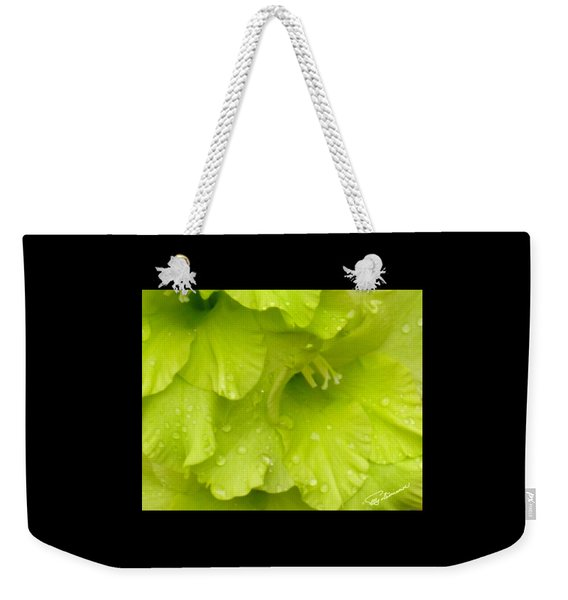 Yellow Gladiola Refreshed Weekender Tote Bag